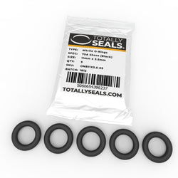 11mm x 3.5mm (18mm OD) Nitrile O-Rings
