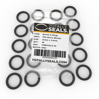 14mm x 2.5mm (19mm OD) Nitrile O-Rings - Totally Seals