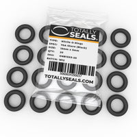 15mm x 5mm (25mm OD) Nitrile O-Rings - Totally Seals