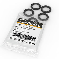 17mm x 4mm (25mm OD) Nitrile O-Rings