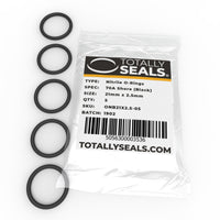 21mm x 2.5mm (26mm OD) Nitrile O-Rings - Totally Seals