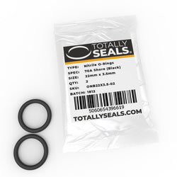 22mm x 3.5mm (29mm OD) Nitrile O-Rings