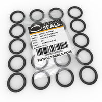 22mm x 3.5mm (29mm OD) Nitrile O-Rings - Totally Seals