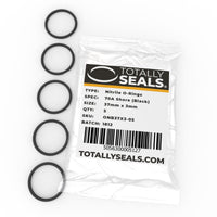37mm x 3mm (43mm OD) Nitrile O-Rings - Totally Seals