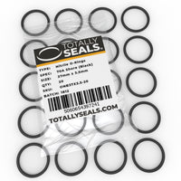 37mm x 3.5mm (44mm OD) Nitrile O-Rings - Totally Seals®