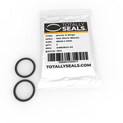 38mm x 4mm (46mm OD) Nitrile O-Rings
