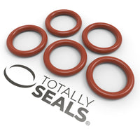 15mm x 2.5mm (20mm OD) Silicone O-Rings - Totally Seals