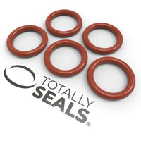 6mm x 3mm (12mm OD) Silicone O-Rings - Totally Seals®