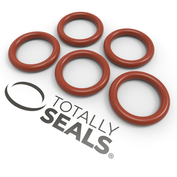 15mm x 2mm (19mm OD) Silicone O-Rings - Totally Seals