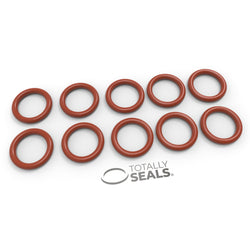 15mm x 2.5mm (20mm OD) Silicone O-Rings
