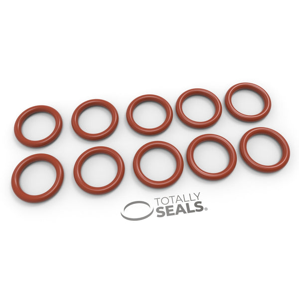 10mm x 2mm (14mm OD) Silicone O-Rings - Totally Seals
