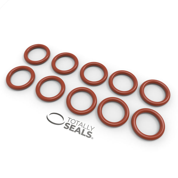 19mm x 3mm (25mm OD) Silicone O-Rings - Totally Seals