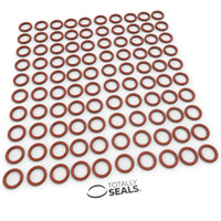 10mm x 2.5mm (15mm OD) Silicone O-Rings - Totally Seals