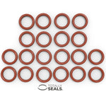25mm x 3mm (31mm OD) Silicone O-Rings - Totally Seals