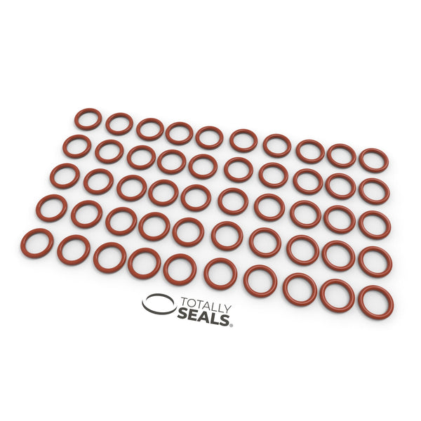 3mm x 2mm (7mm OD) Silicone O-Rings - Totally Seals®