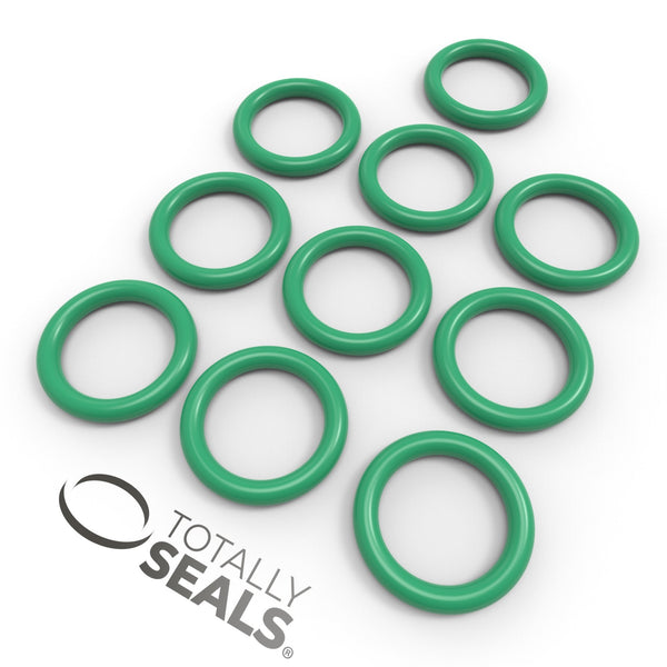 12mm x 3mm (18mm OD) FKM (Viton™) O-Rings - Totally Seals®