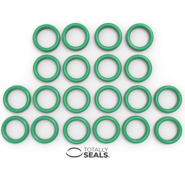 15mm x 3mm (21mm OD) FKM (Viton™) O-Rings - Totally Seals®