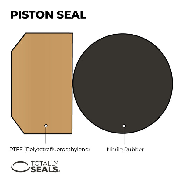 80mm x 4mm  - Hydraulic Piston Seal - Totally Seals