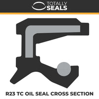 18mm x 28mm x 7mm - R23 (TC) Oil Seal - Totally Seals®