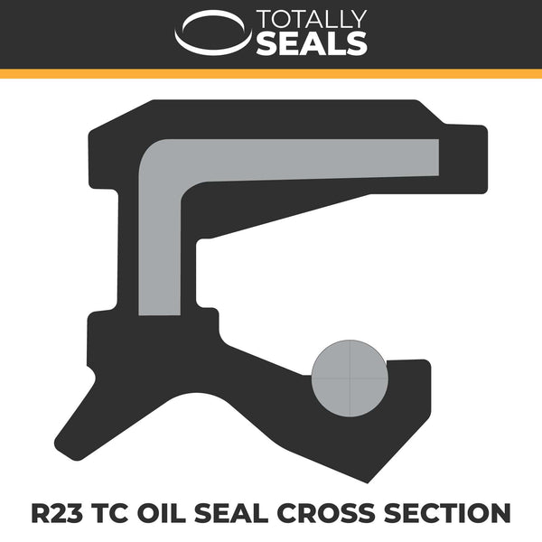 17mm x 40mm x 7mm - R23 (TC) Oil Seal - Totally Seals