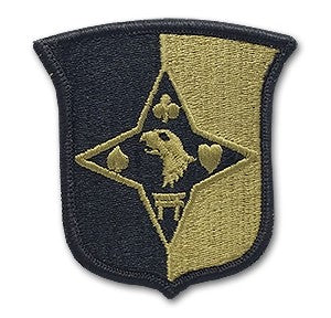 US Army 101st Sustainment Brigade OCP Patch with Hook Fastener (pair) - Sta-Brite Insignia INC.