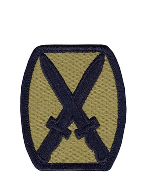 US Army 10th Mountain Division OCP Patch with Hook Fastener (pair) - Sta-Brite Insignia INC.