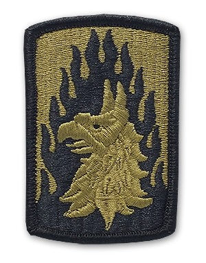US Army 12th Aviation Brigade OCP Patch with Hook Fastener (pair) - Sta-Brite Insignia INC.