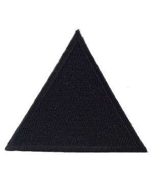 US Army 159th Infantry Triangles Black Helmet Patch - Sta-Brite Insignia INC.