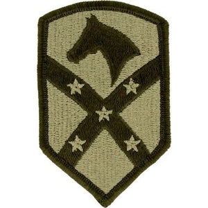 US Army 15th Sustainment Brigade OCP Patch with Hook Fastener (pair) - Sta-Brite Insignia INC.