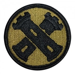 US Army 16th Engineering Brigade OCP Patch with Hook Fastener (pair) - Sta-Brite Insignia INC.