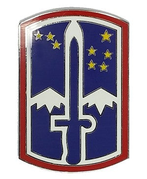 US Army 172Nd Infantry Brigade Combat Team CSIB - Sta-Brite Insignia INC.