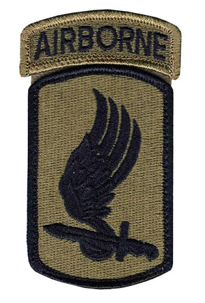 US Army 173rd Airborne Brigade OCP Patch with Hook Fastener and Airborne Tab (pair) - Sta-Brite Insignia INC.
