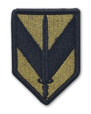 US Army 1st Sustainment Brigade OCP Patch with Hook Fastener (pair) - Sta-Brite Insignia INC.