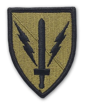 US Army 201st Military Intelligence OCP Patch with Hook Fastener (pair) - Sta-Brite Insignia INC.