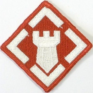 US Army 20th Engineer Brigade Color Sew-on Patch - Sta-Brite Insignia INC.