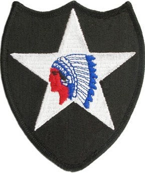 US Army 2nd Infantry Division Color Sew-on Patch - Sta-Brite Insignia INC.