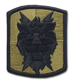 US Army 35th Signal Brigade OCP Patch with Hook Fastener (pair) - Sta-Brite Insignia INC.