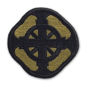 US Army 428th Field Artillery Brigade OCP Patch with Hook Fastener (pair) - Sta-Brite Insignia INC.