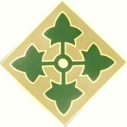US Army 4th Infantry Division CSIB - Sta-Brite Insignia INC.