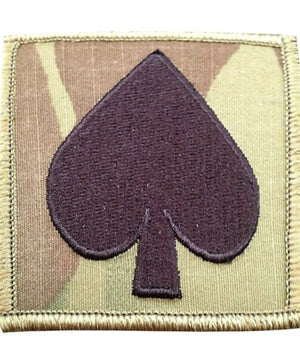 US Army 506th Infantry Spade OCP Helmet Patch - Sta-Brite Insignia INC.