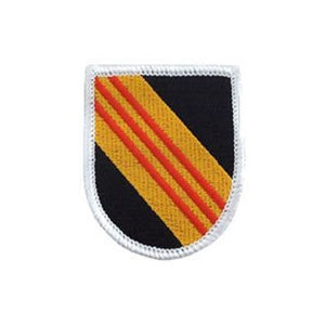 US Army 5th Special Forces Vietnam Flash - Sta-Brite Insignia INC.