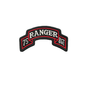 US Army 75th Ranger Regiment RGT Color Scroll Sew-On (pair) - Sta-Brite Insignia INC.