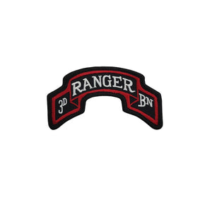 US Army 75th Ranger Regiment 3rd Battalion Color Scroll Sew-On (pair) - Sta-Brite Insignia INC.