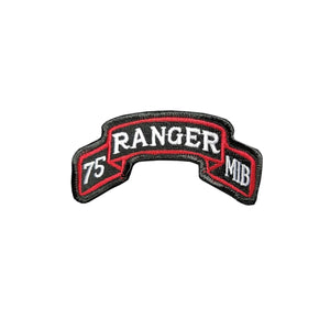 US Army 75th Ranger Regiment MIB Color Scroll Sew-On (pair) - Sta-Brite Insignia INC.