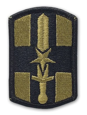 US Army 807th Medical Brigade OCP Patch with Hook Fastener (pair) - Sta-Brite Insignia INC.