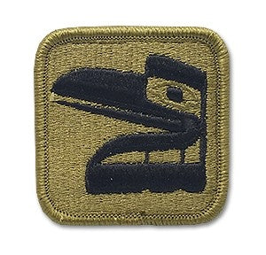 US Army 81st Brigade OCP Patch with Hook Fastener (pair) - Sta-Brite Insignia INC.