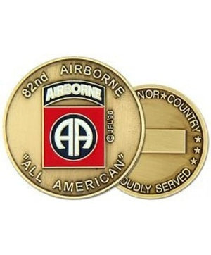 US Army 82nd Airborne Division Challenge Coin - Sta-Brite Insignia INC.