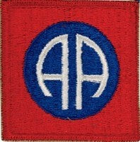 US Army 82nd Airborne Division Color Sew-on Patch - Sta-Brite Insignia INC.