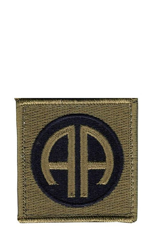 US Army 82nd Airborne Division OCP Patch with Hook Fastener (pair) - Sta-Brite Insignia INC.