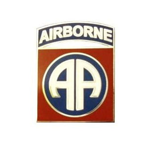 US Army 82nd Airborne Division (Patch Design) Pin (Each) - Sta-Brite Insignia INC.